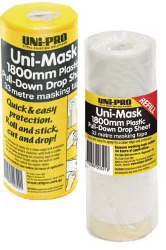 Masking Overspray Cover 1.8m x 33mt roll