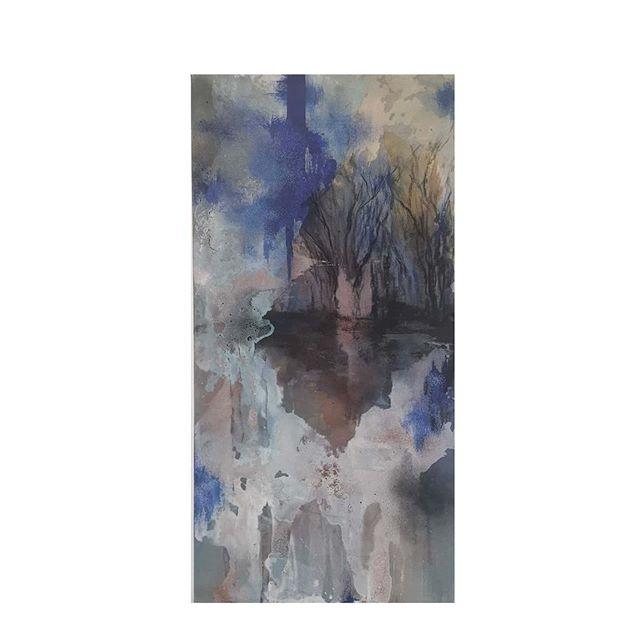 'Serendipity' 2020 59 cm x 119 cm Oil, a