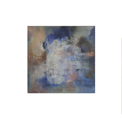 'Rain Freckled Water' 2020 59 x 59 cm Oi