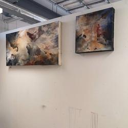Warm tones  #process #sketch #wall #pain