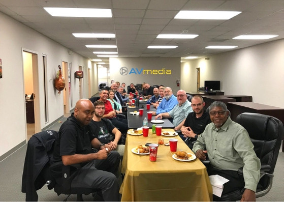 Our AVmedia Inc. Family Thanksgiving - Our Corporate Culture