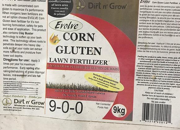 Evolve Corn Gluten 9-0-0