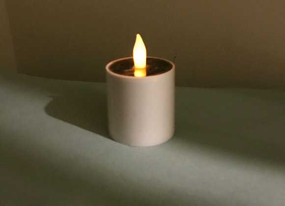 Solar Candle Flickering Flame