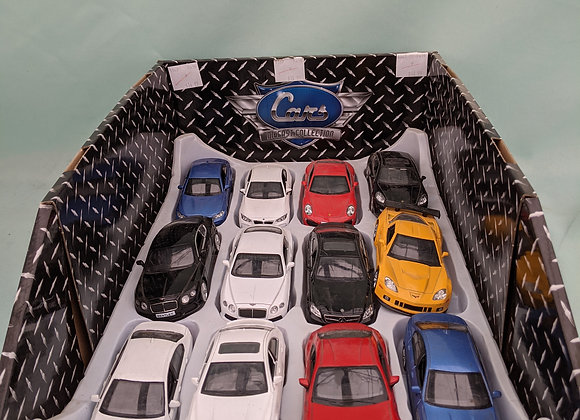Pull Back Action Diecast Car