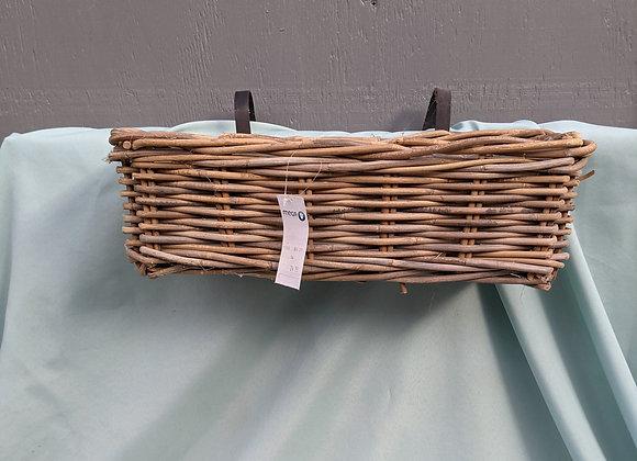 Deck/Fence Wicker Planter