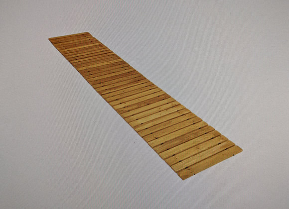 Evergreen 6' Portable Roll-Out Straight Cedar Path Way