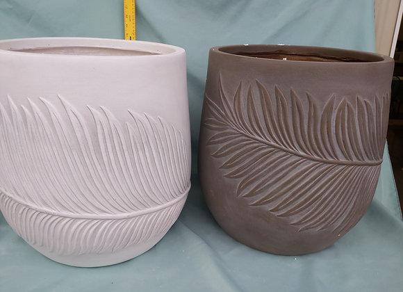 """14"""" Fibre Clay Pot"""