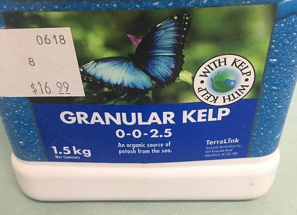 Garden Pro 0-0-2.5 Granular Kelp
