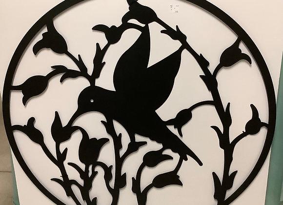 Metal Hummingbird Wall Art