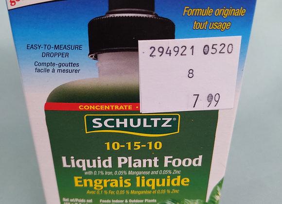 Schultz Liquid Plant Food 10-15-10