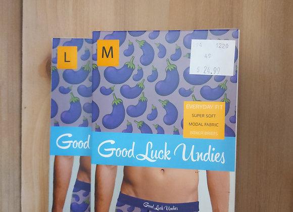 Good Luck Undies - Eggplant
