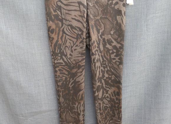 Tribal Multi Animal Print Dress Pant