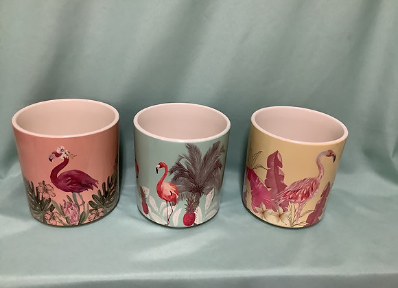 Flamingo Pots - Assorted