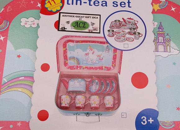 Ace 11pc Tin-Tea Set