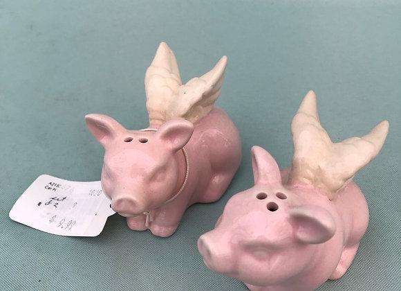 Flying Pigs Salt & Pepper Shakers