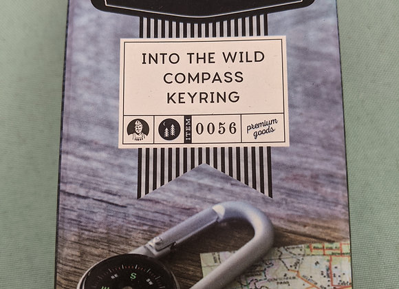 Maverick Compass Key Ring