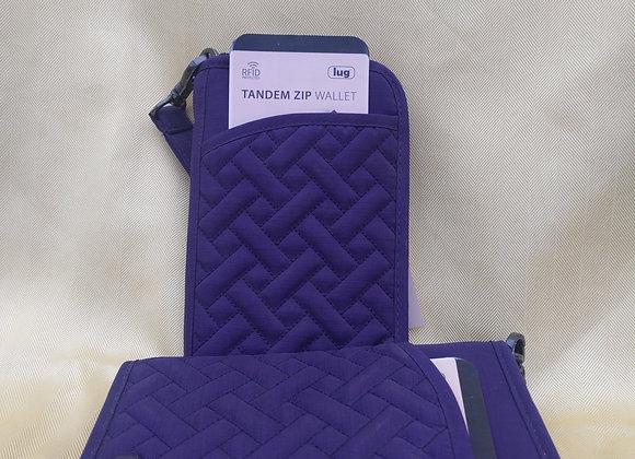 Tandem Zip Wallet - Purple