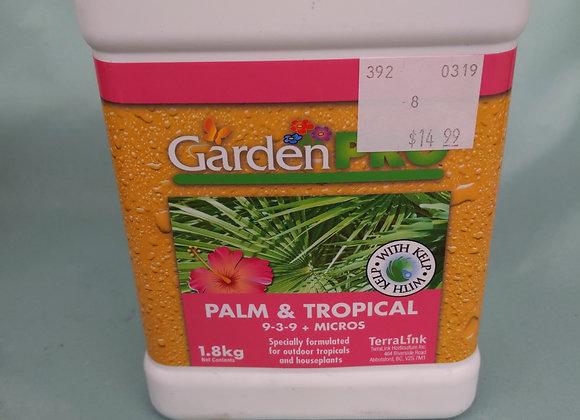 Garden Pro Palm & Tropical 9-3-9 Fertilizer
