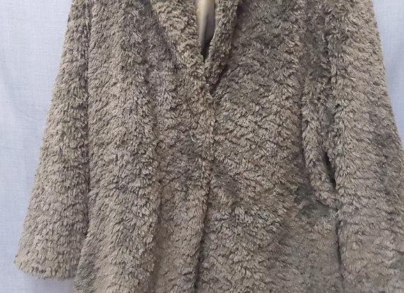 Tribal Grey Dress Coat