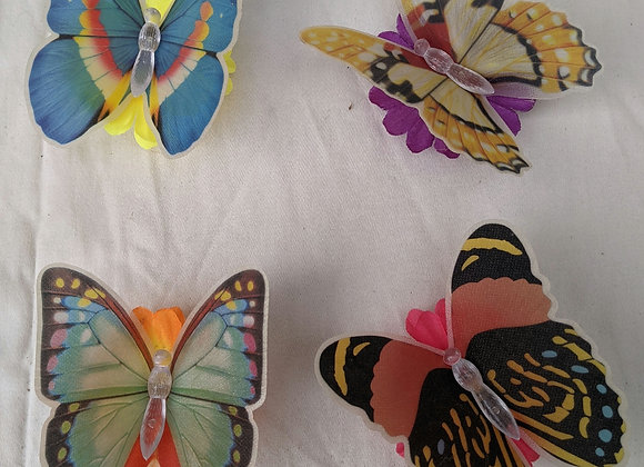 Assorted Fibre Optic Light Up Butterfly