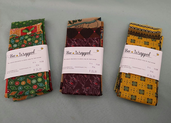 Bee Wrapped Beeswax Wraps