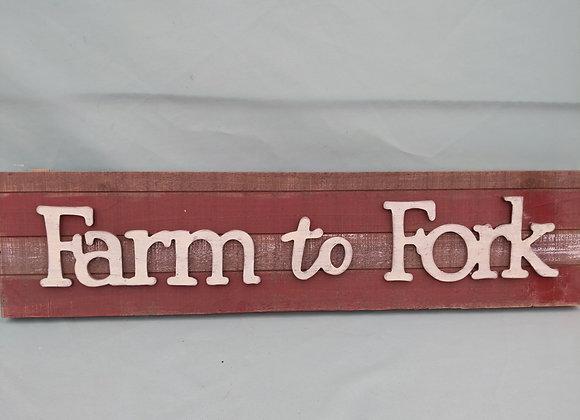 Farm to Fork Wall Art