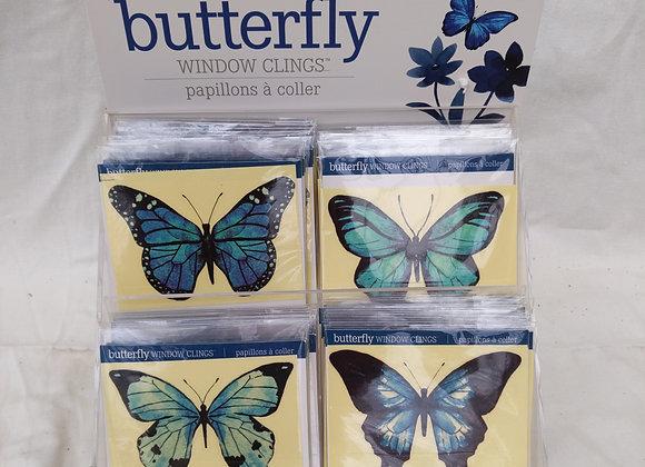 Assorted Butterfly Window Clings
