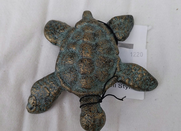 Cast Iron Turtle Figurine