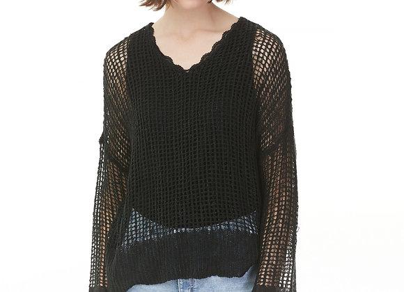 Charlie B Crochet Top