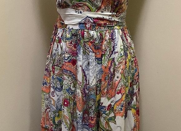 Papa Colourful Paisley Maxi Dress