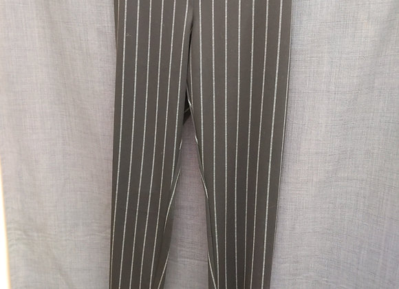 Dress Pants - Pin Stripe (Black)