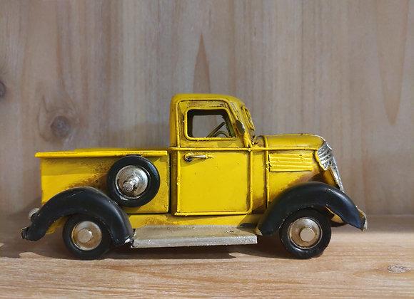 Yellow Metal Truck