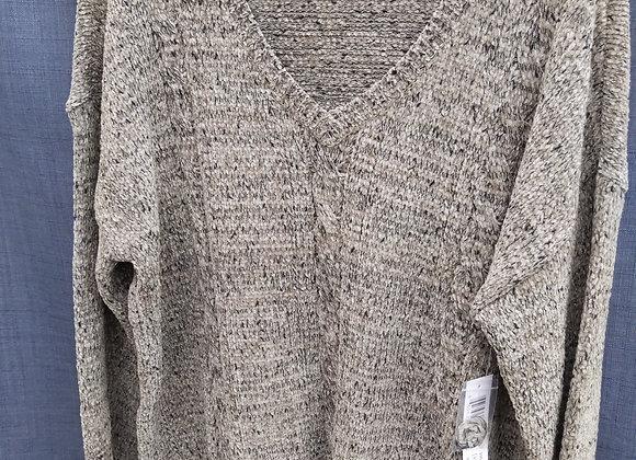 Tribal V Neck Sweater