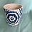 """Thumbnail: 4"""" Ceramic Blue & White Plant Pots"""