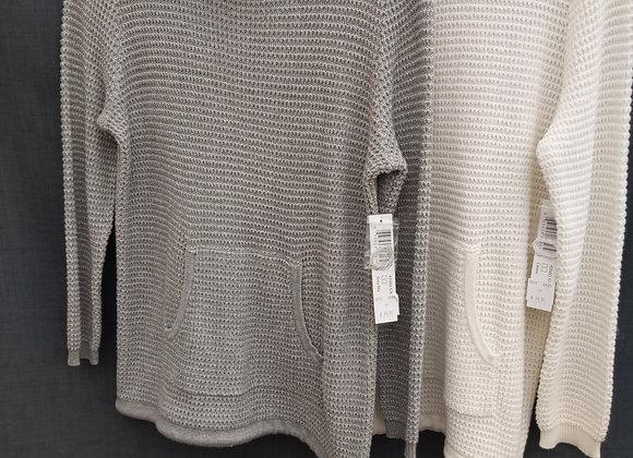 Tribal Sweater w. Drawstring