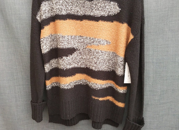 Tribal Turtle Neck Sweater