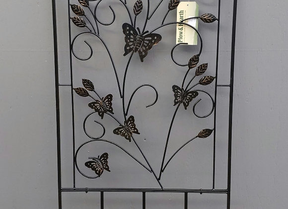 Evergreen Metal Butterfly Trellis