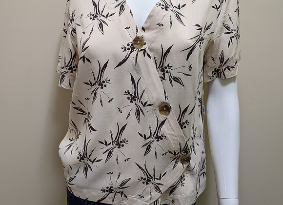 Tribal Button Top