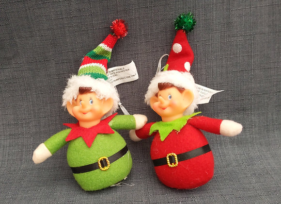Elf Tree Ornament