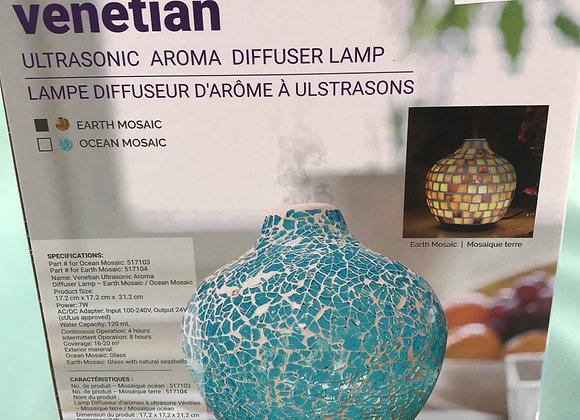 Venetian UltraSonic Aroma Diffuser Lamp