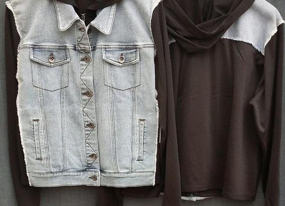 Jean Jacket Sweater
