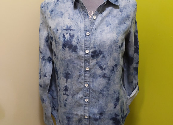 FDJ Tab-Up Tie Dye Shirt