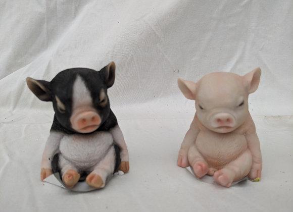 """3.5"""" Pig Ornament"""
