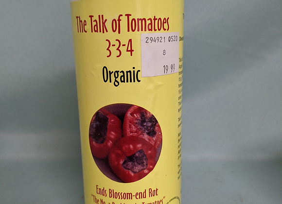 The Talk you of Tomatoes 3-3-4