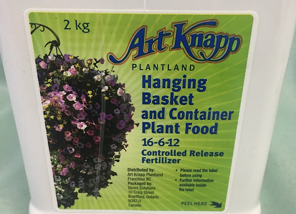 Art Knapp 16-6-12 Hanging Basket & Container Food
