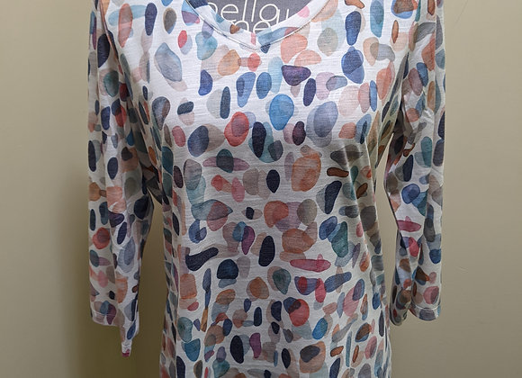 FDJ Multi Color 3/4 Top