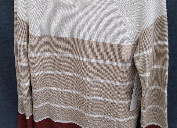 Tribal Raffia Sweater