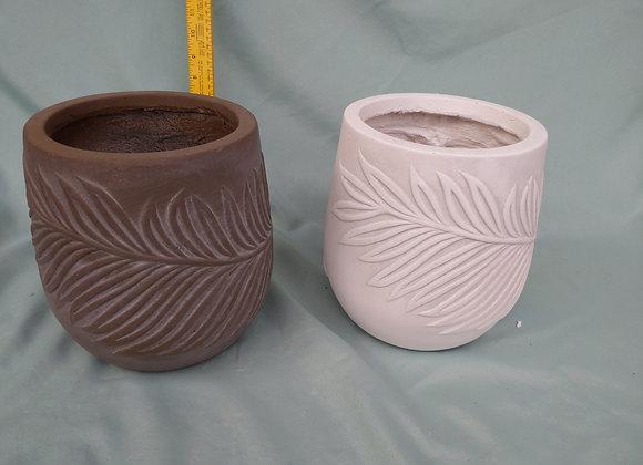 """7.5"""" Fibreclay Pot"""