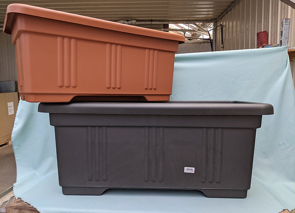 Planter Box with optional Wheels