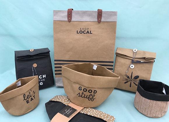 Washable Paper Bag or Basket